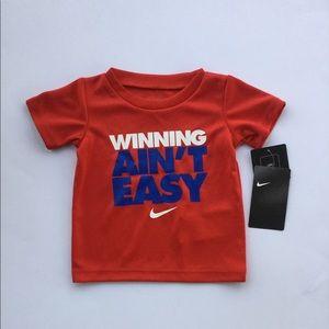 NWT Nike shirt , boys size 12 months